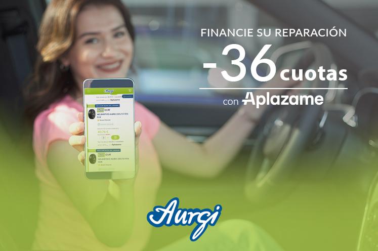 Financia la reparación del coche en la web de Aurgi