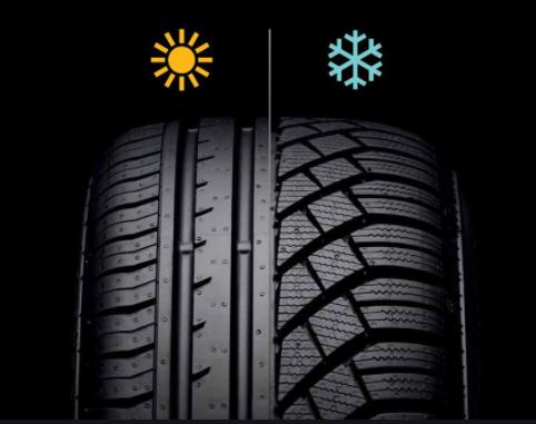 Diferencias entre los neumáticos de invierno y los de verano
