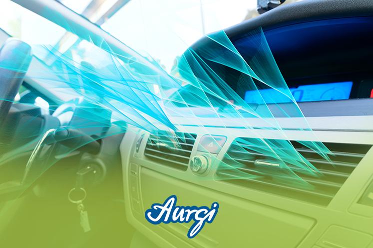 El funcionamiento del aire acondicionado del coche