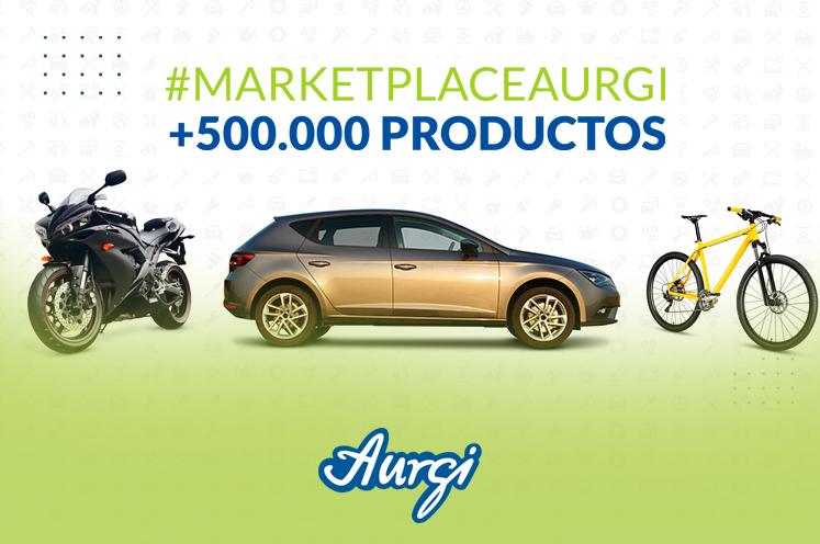 Marketplace Aurgi: +500.000 productos para todo tipo de vehículos